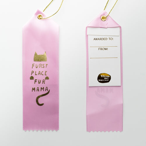 Furst Place Fur Mama - Award Ribbon Card