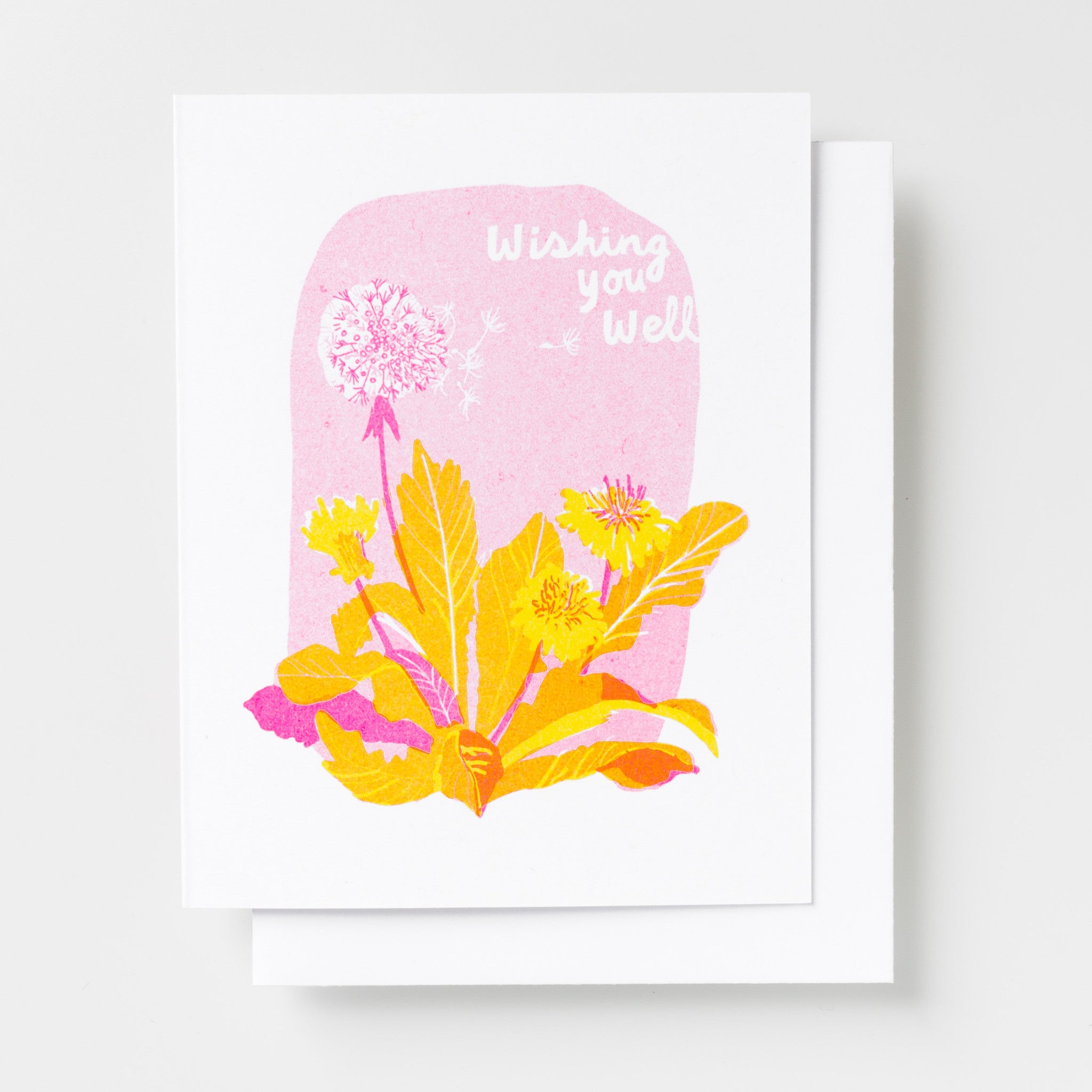 Wishing You Well - Risograph Card