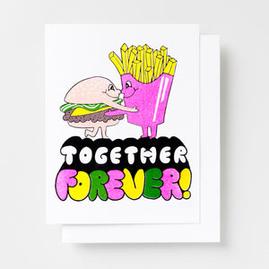 Together Forever - Risograph Card