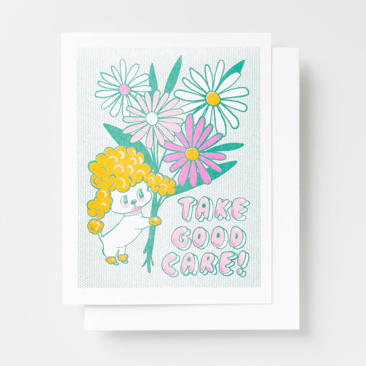 Take Good Card - Risograph Card