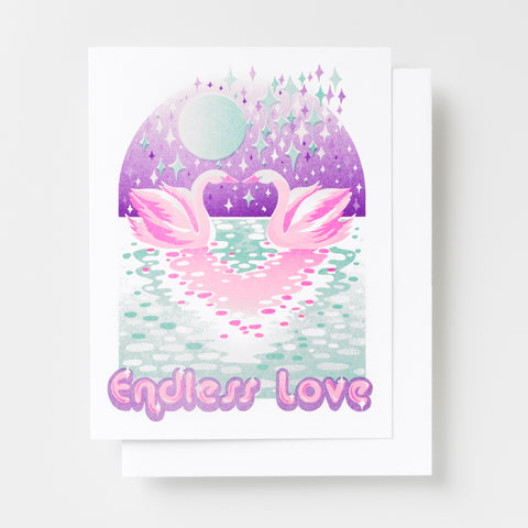 Endless Love - Risograph Card
