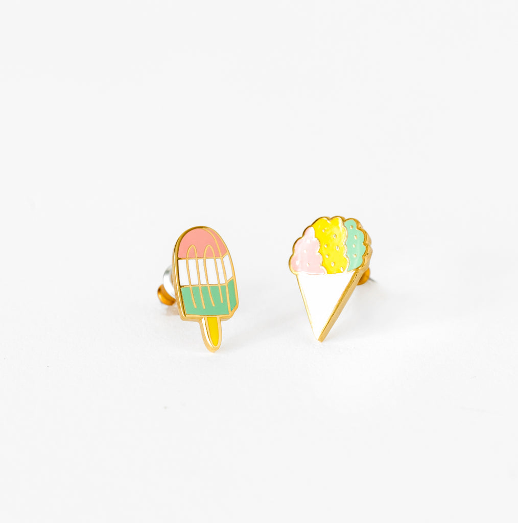 Sno Cone and Popsicle Earrings