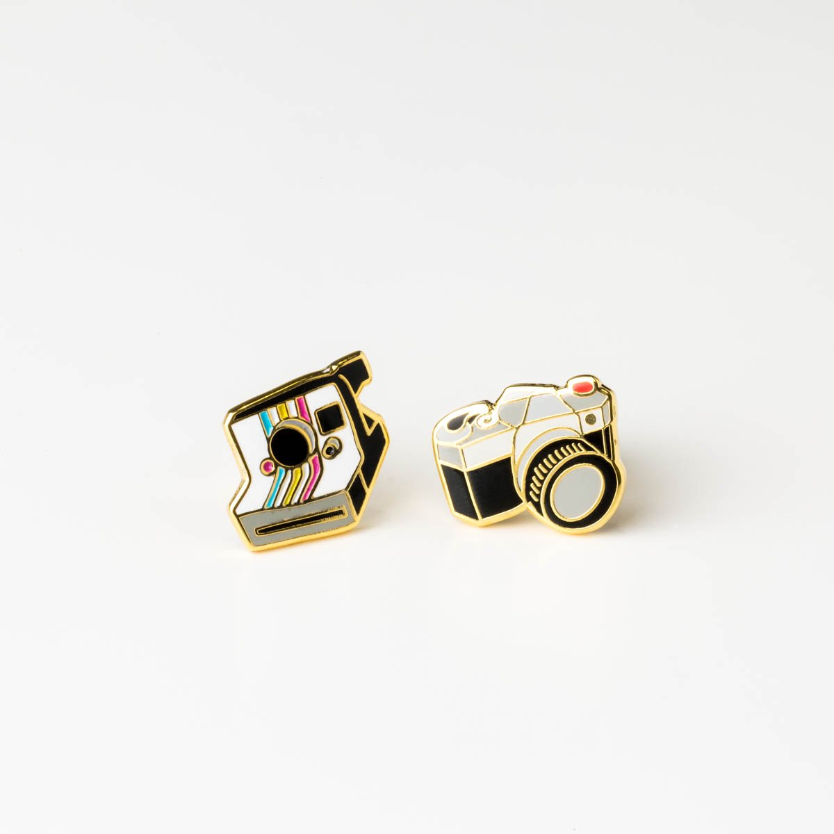 Camera Earrings