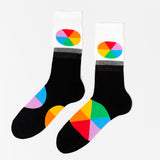 Color Wheel Crew Socks - Men's