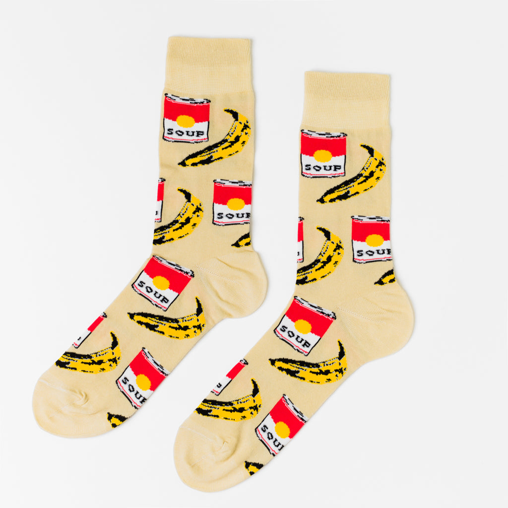 Pop Art Crew Socks - Men's