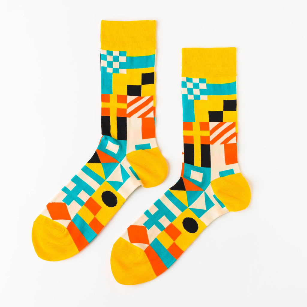 Nautical Crew Socks - Mens