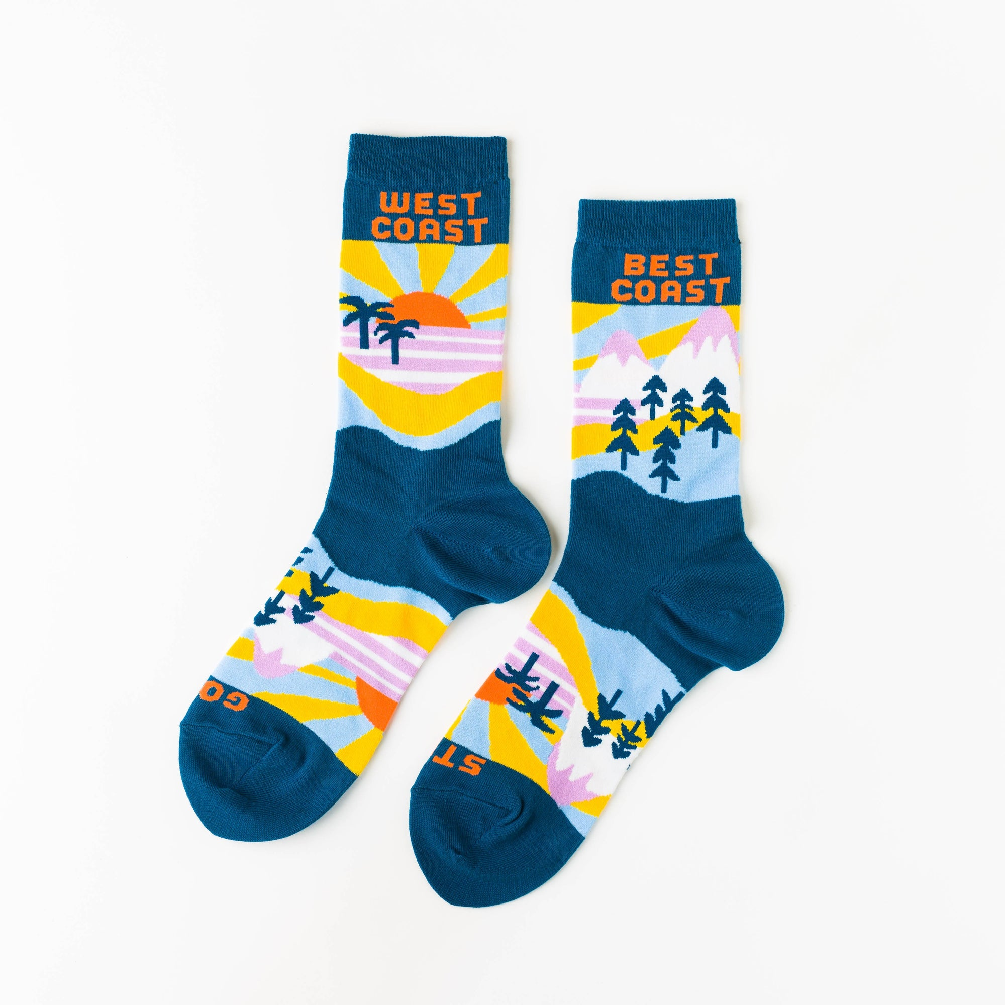Best Coast Crew Socks - Mens