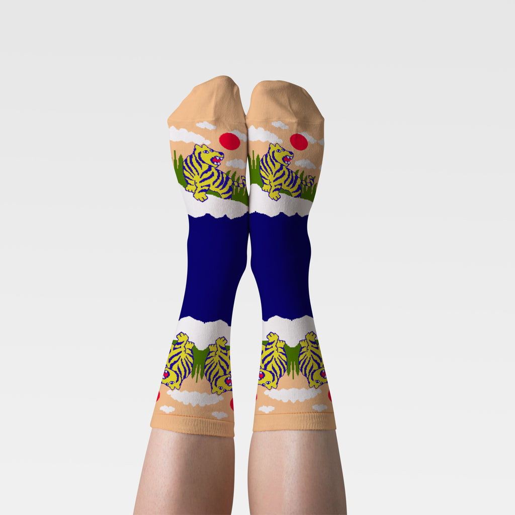 Tiger Crew Socks - Women's