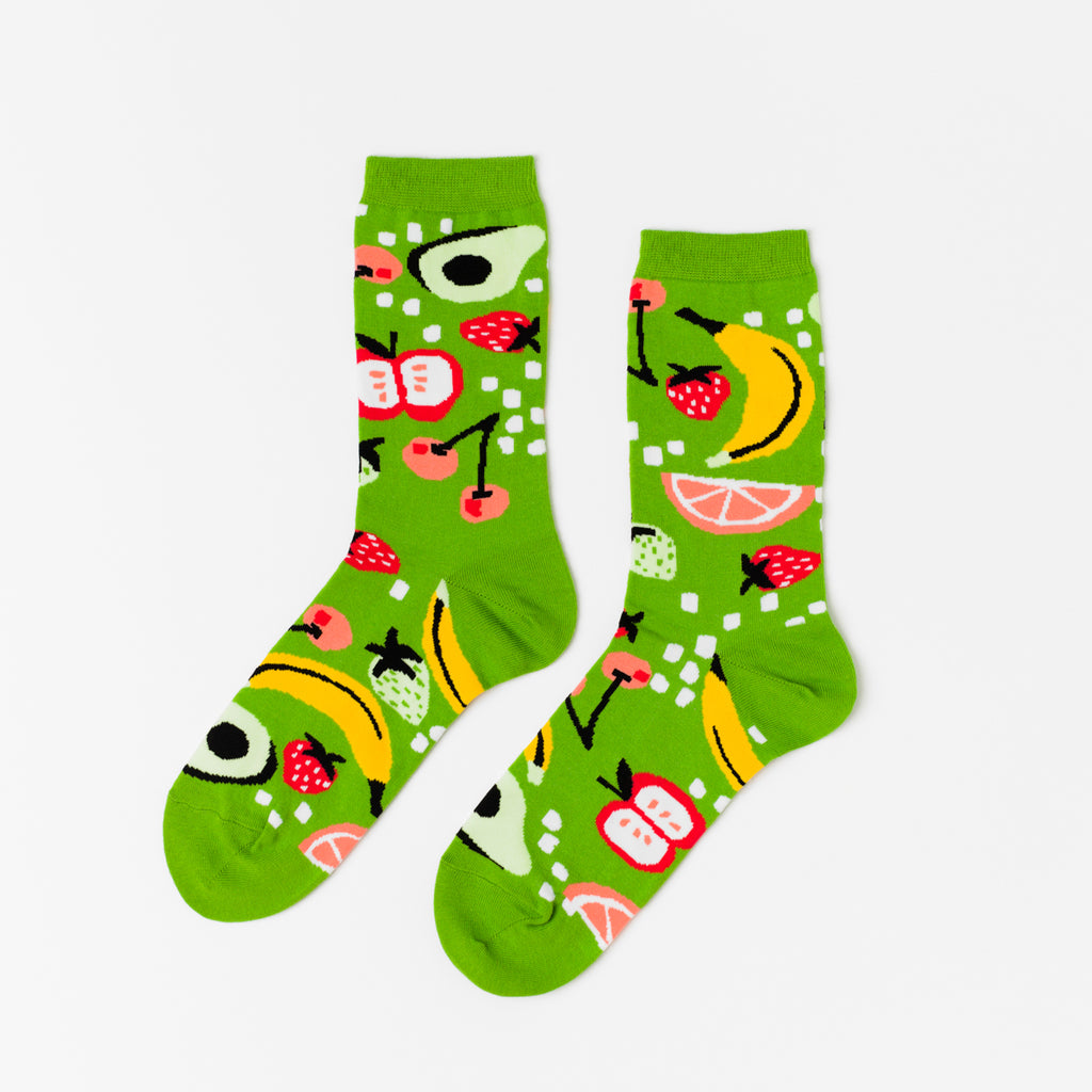Fruits Crew Socks - Women's