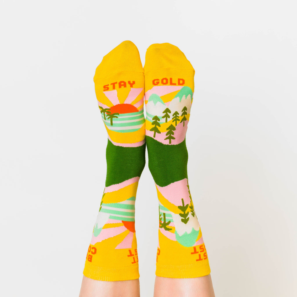 Best Coast Crew Socks - Womens