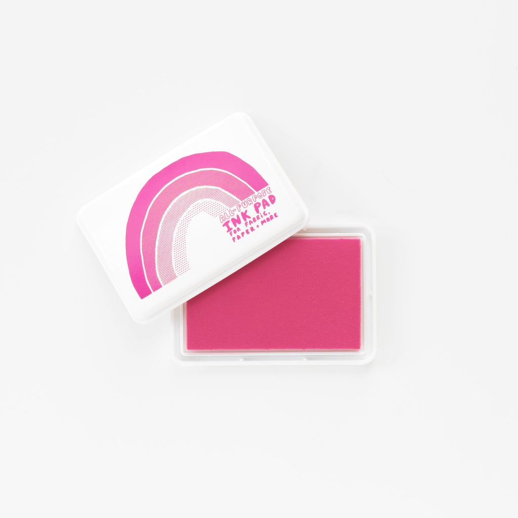 All-Surface Magenta Ink Pad - For Paper, Fabric, and More