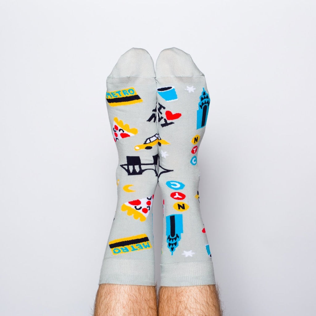 Nyc Crew Socks - Mens