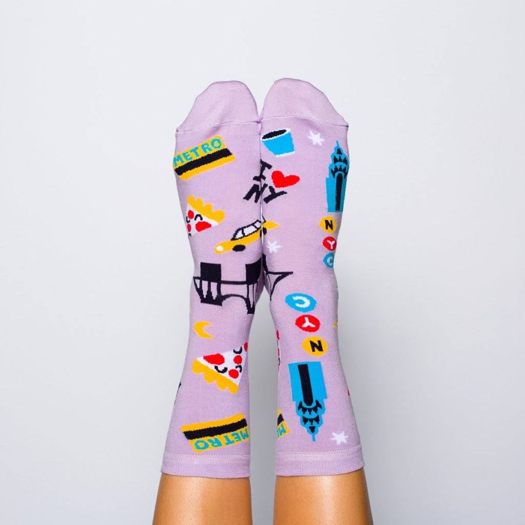 Nyc Crew Socks - Womens
