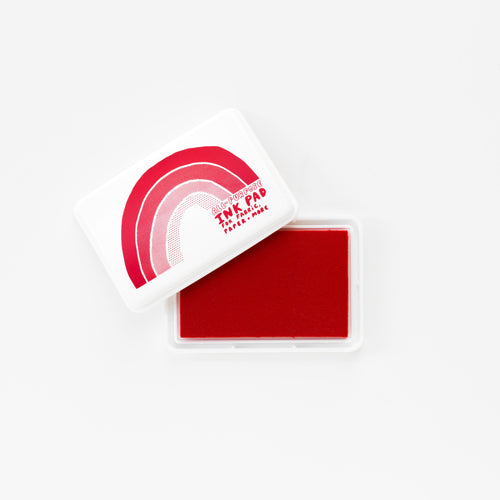 All-Surface Red Ink Pad - For Paper, Fabric, and More