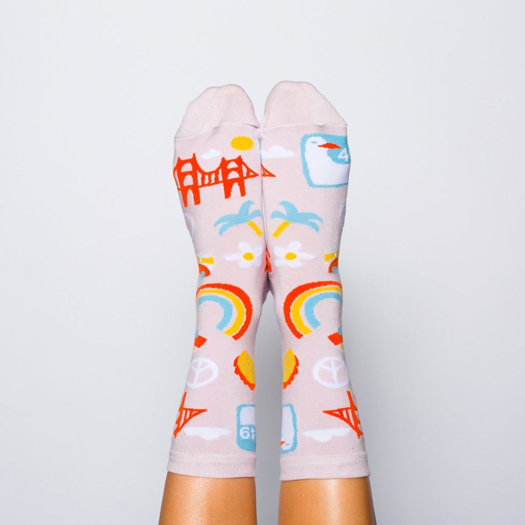 Sf Crew Socks - Womens