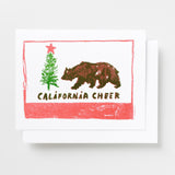 California Cheer - Risograph Card Set