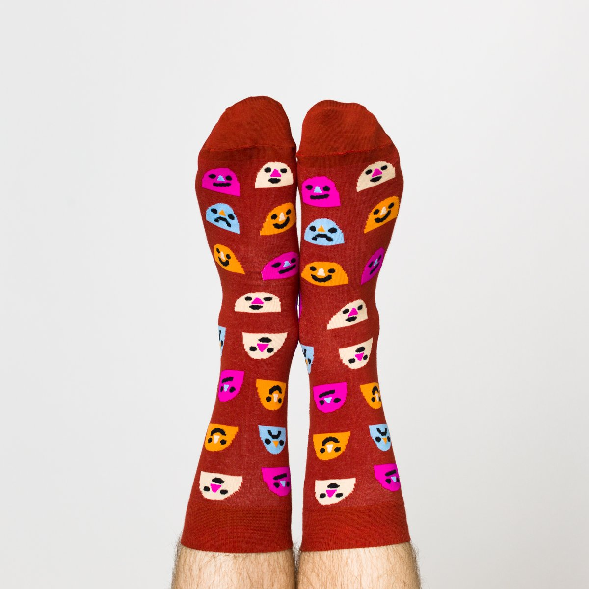 Mixed Emotions Crew Socks - Mens