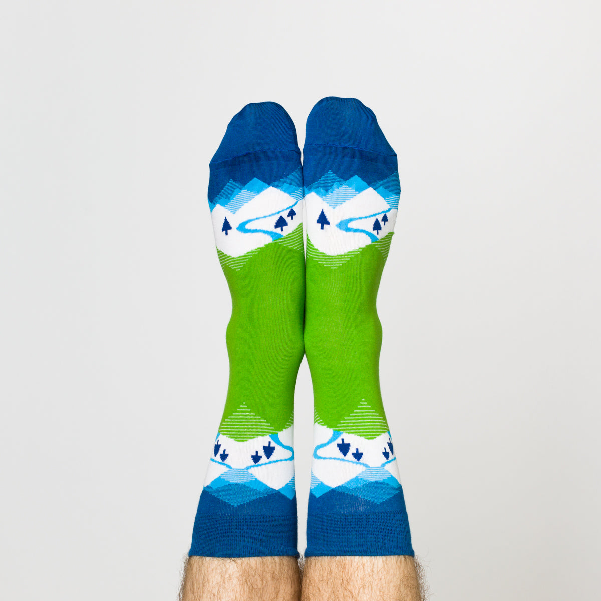 Winter Mountain Crew Socks - Men's