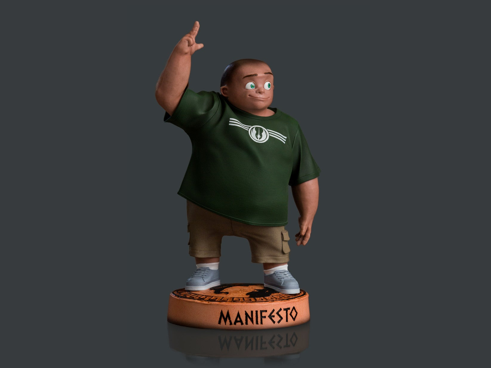 Manifesto Green Guy Collectible
