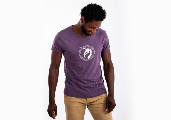 Purple T-shirt - Unicorn Print