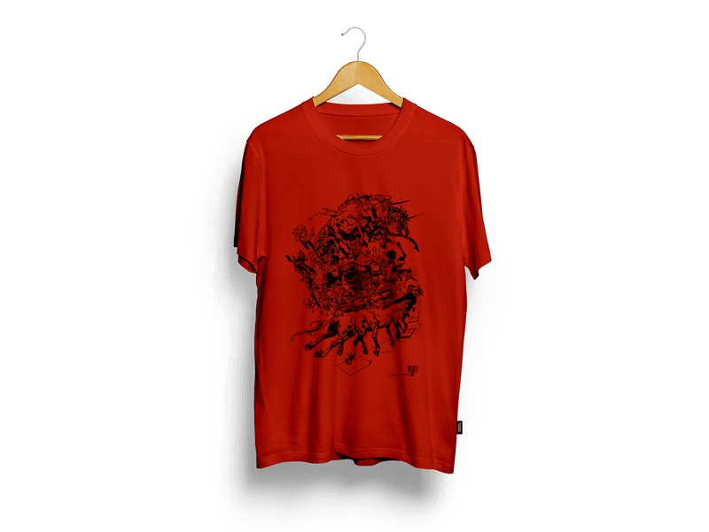Tales of the Unknown Dark Red T-Shirt