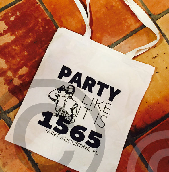 Party Like It Is 1565 Tote Bag