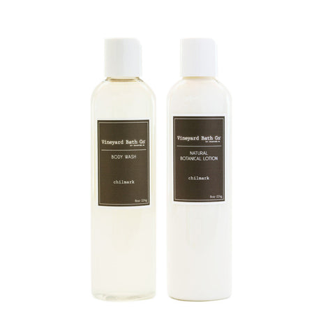 Chilmark Body Wash + Body Lotion Set