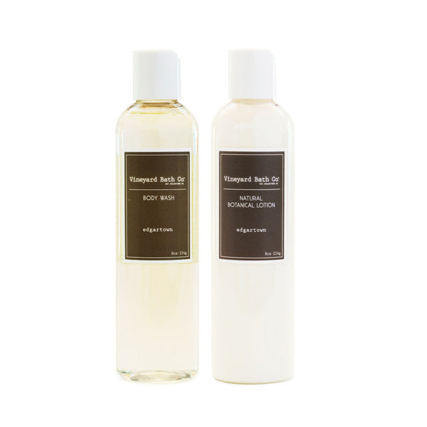 Edgartown Body Wash + Body Lotion Set