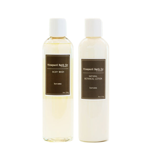 Katama Body Wash + Body Lotion Gift Set