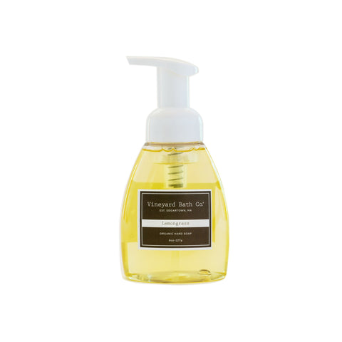 Lemongrass Organic Hand Soap