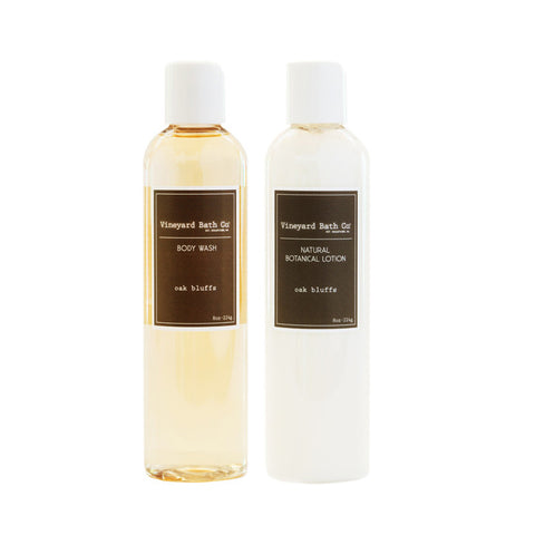 Oak Bluffs Body Wash + Body Lotion Gift Set