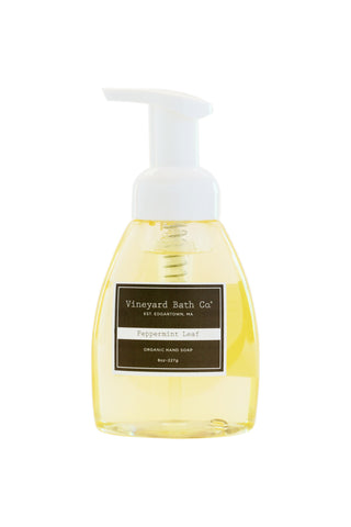 Peppermint Leaf Organic Hand Soap
