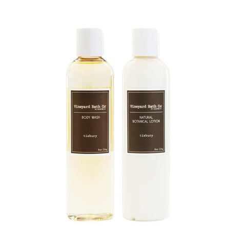 Tisbury Body Wash + Body Lotion Gift Set