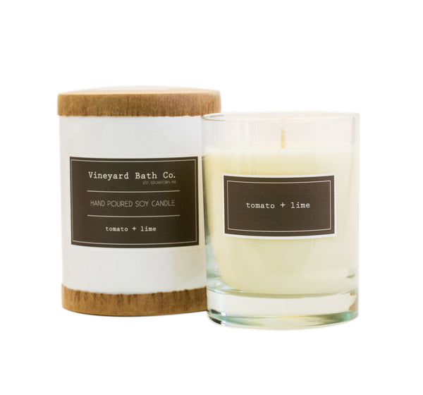 Tomato + Lime Candle Gift