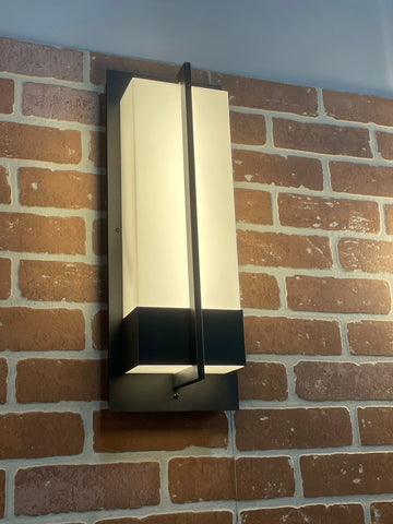 Rectangular Wall Sconce Light