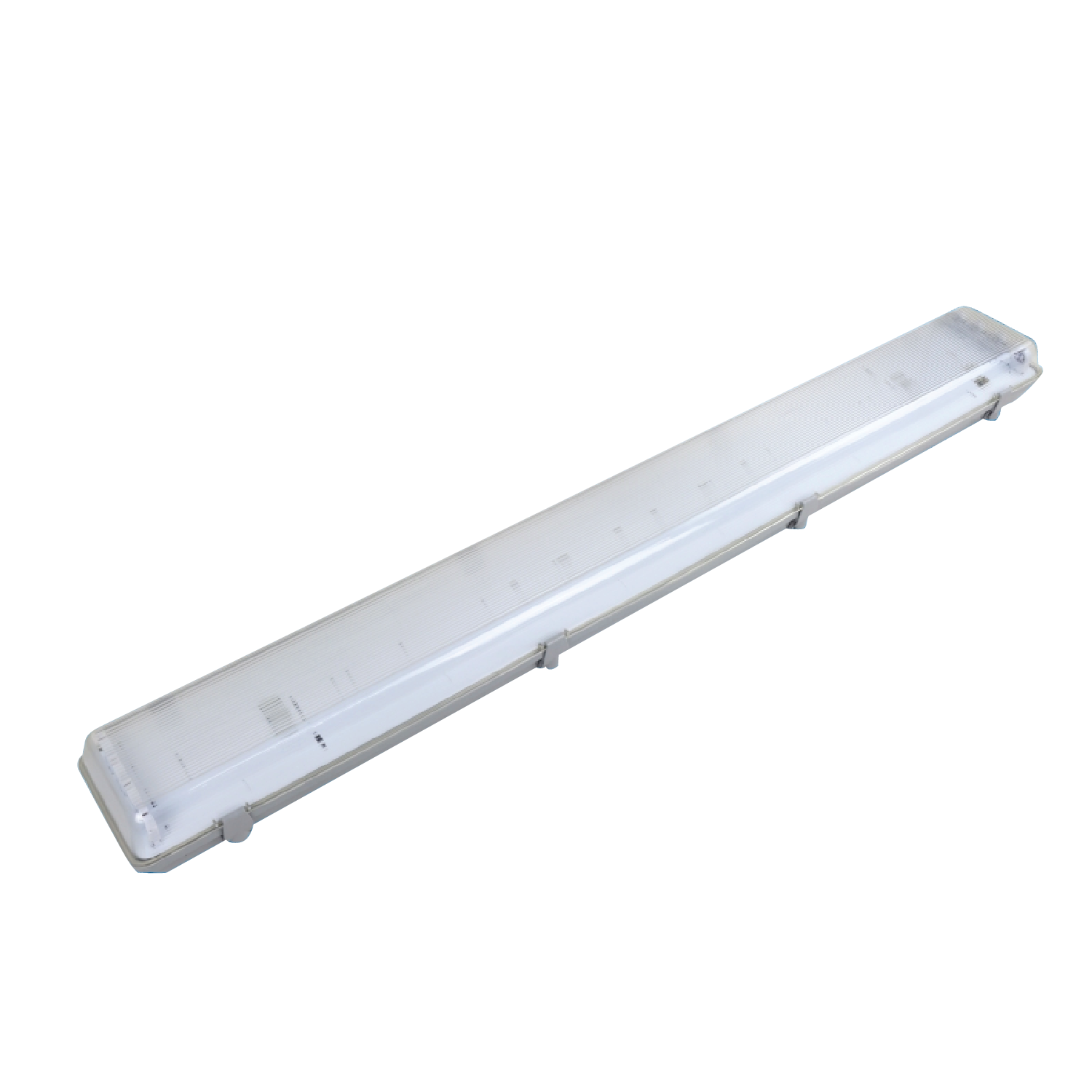 "LED Vapor Tight Linear Fixture with 4"" T8 Fitting"
