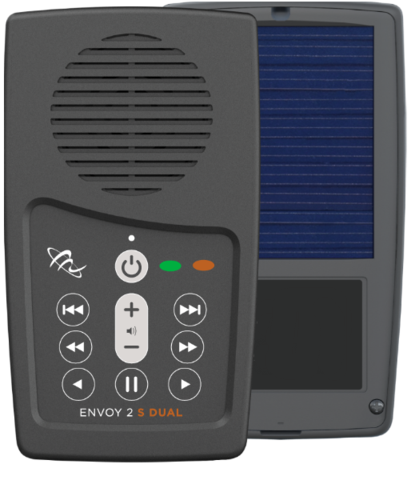 enovy 2 s dual audio bible player with antioch baptist seminary courses