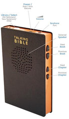 talking bible player button layout