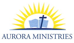 Aurora Ministries, Audio Bibles for the Blind Logo
