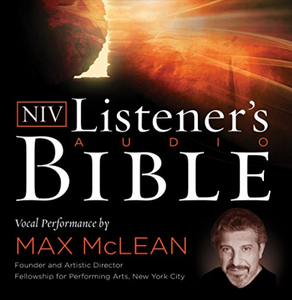 NIV Audio Bible Player by Max Mclean // New International Version Bible Reader