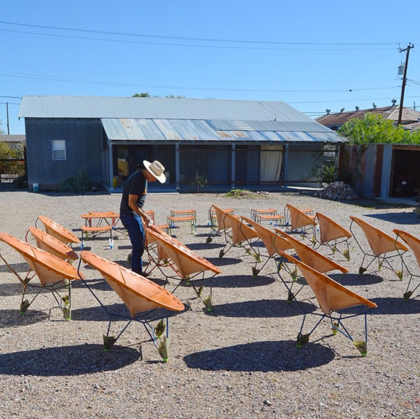 Garza Marfa Product Care Workshop Yard