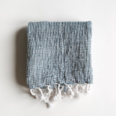 Linen / Cotton Waffle Weave Hand Towel