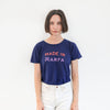 Garza Marfa + Jungmaven - Made in Marfa Blue Tee