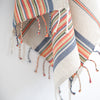 Linen / Cotton Dish Towel Stripe Hand Towel