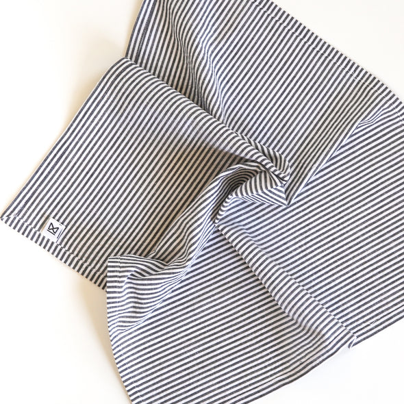 Seersucker Striped Napkins, Set of 4
