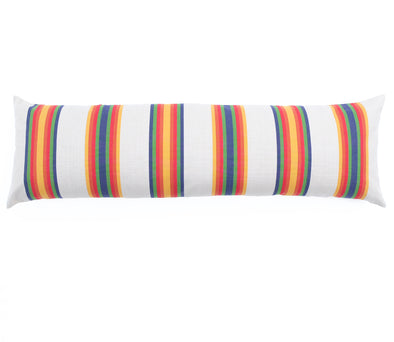 "Cotton Stripe 60"" Bolster - Sarape Stripe"