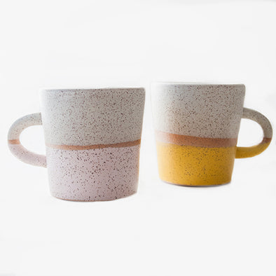 Alexandria Cummings Speckled Mug Two Tone
