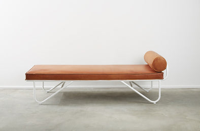 Saddle Leather Chaise