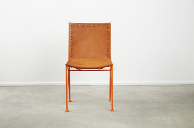 Saddle Leather Dining Chair