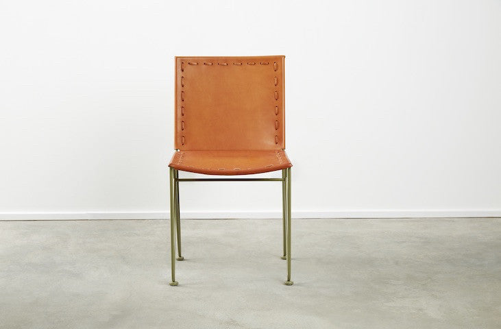 Saddle Leather Dining Chair & Saddle Leather Dining Chair u2013 Garza Marfa